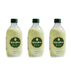 碳酸果汁(玻璃樽)300ML 蜜瓜味