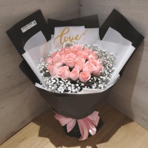 20朵玫瑰花束