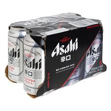 Asahi朝日啤酒330ML (6罐)