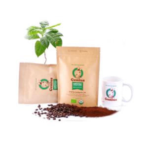 Genius Coffee100% Arabica USDA有機認證咖啡(幼磨) 250G (1)